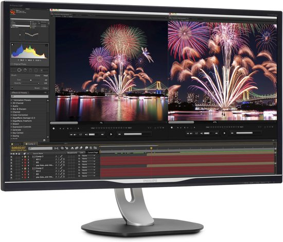 Philips Brilliance LCD-monitor met USB-C-dock 328P6VUBREB/00