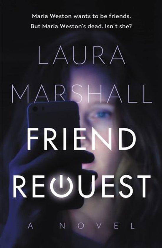 Boek cover Friend Request van Laura Marshall (Onbekend)