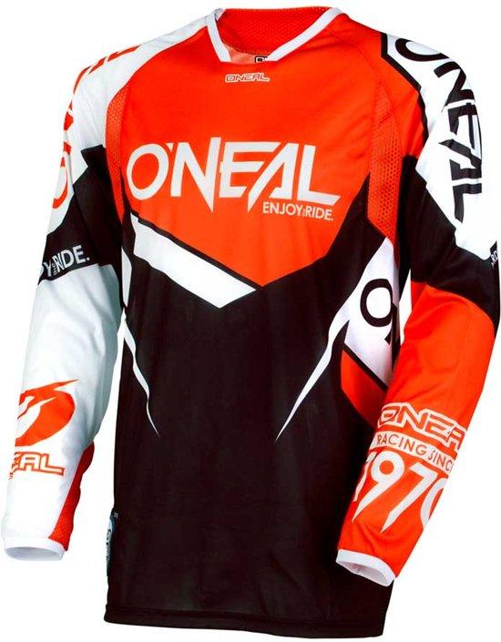 O'Neal Crossshirt Hardwear Flow True Orange/White-XXL