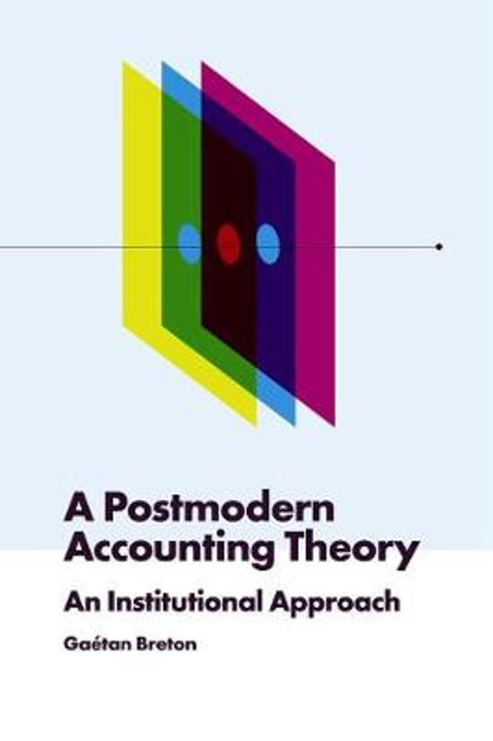 A Postmodern Accounting Theory