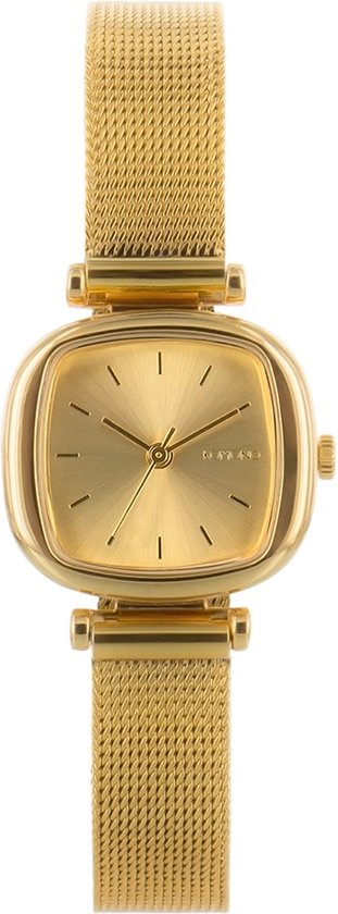 Komono Moneypenny Royale Gold horloge dames - goud - messing