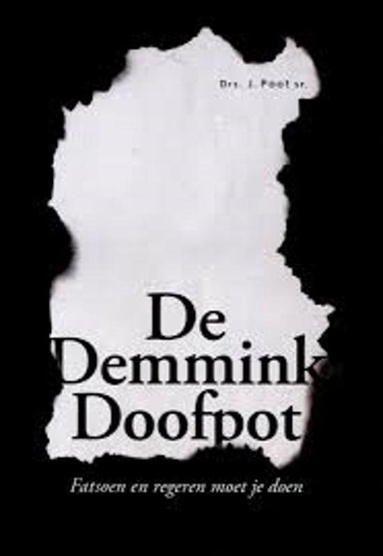 Boek cover De Demmink Doofpot van J. Poot (Onbekend)