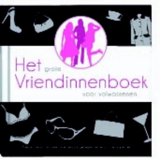 Het grote vriendinnenboek voor volwassenen