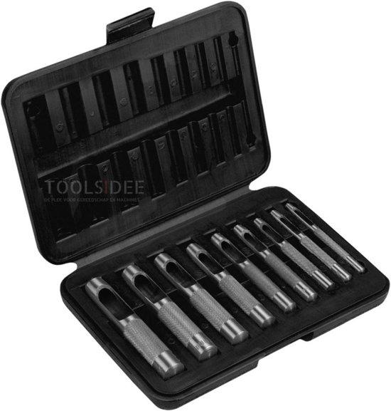Topex Hollepijpset 3-12mm 9dlg