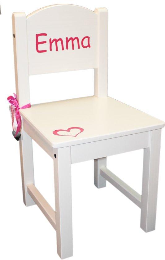 Kinderstoeltje Emma (of eigen naam)