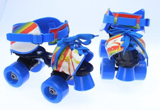 243cd301f28 Verstelbare kinder rolschaats - Rolschaatsen voor kinderen - Verstelbaar  28-37 Blauw