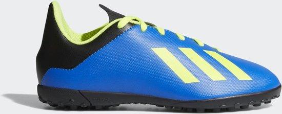 adidas X Tango 18.4 TF J Voetbalschoenen Kinderen - Energy Mode - Maat 35.5
