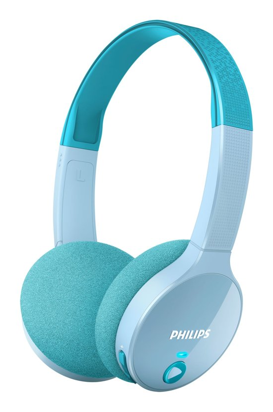 Philips SHK4000 - Kids Bluetooth Koptelefoon - Blauw