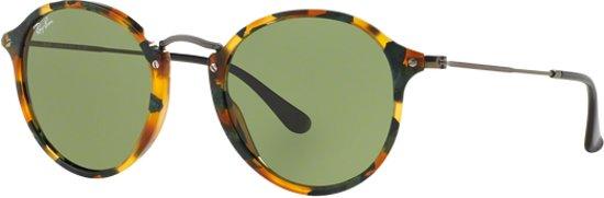 2788d30ec48 Ray-Ban RB2447 11594E - zonnebril - Round Fleck - Tortoise Staalgrijs -  Groen
