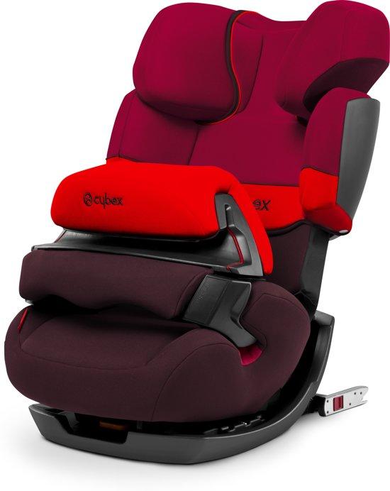 Cybex Pallas Fix - Autostoel - Rumba Red Dark red