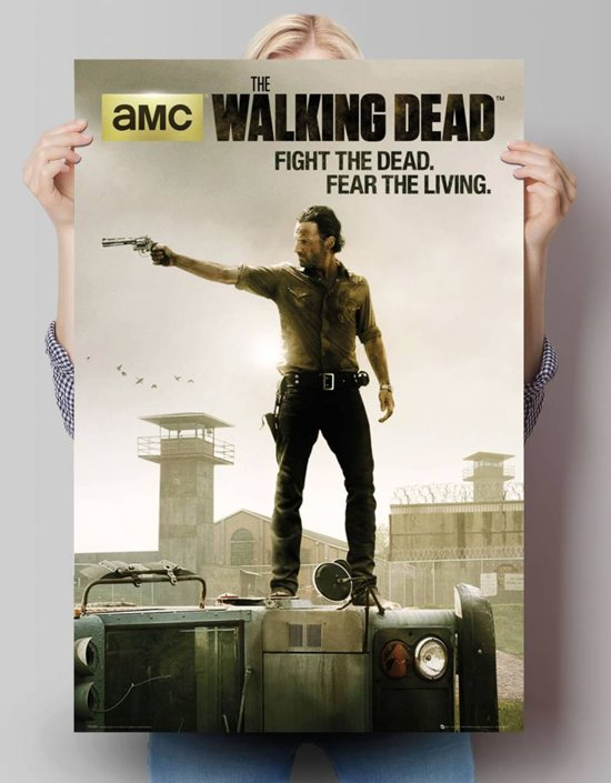 Reinders Poster The Walking Dead - Poster - 61 × 91,5 cm - no. 24114