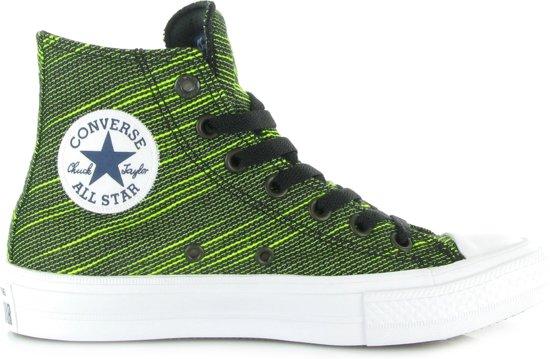 9e656b2a202 Converse All Star Chuck II Canvas Shield Hi - Sneakers - Groen - Maat 39,
