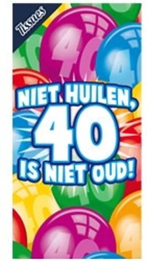 Miko - Tissuebox - Niet huilen, 40 is niet oud!