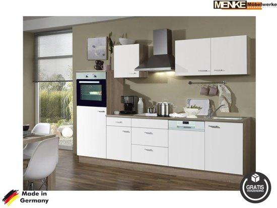 Keuken Wandkast 8 : Bol menke rechte keuken ostroda compleet incl apparatuur