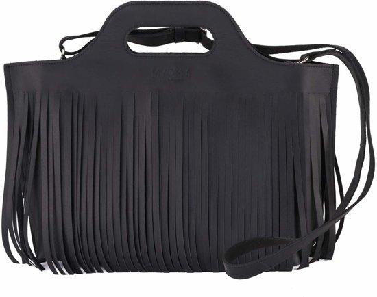 Myomy my Handbag Hairy handtassen zwart Carry sQdhtrC