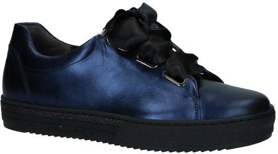 b0605b6db66 bol.com | Metallic Donker Blauwe Sneakers Gabor Optifit