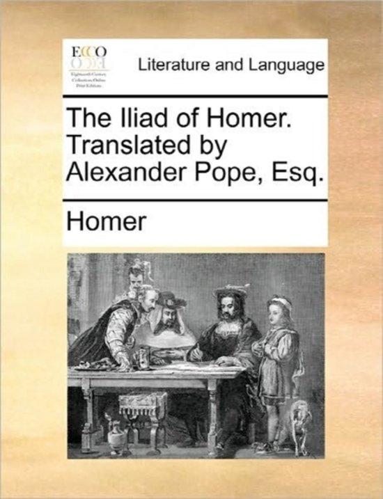 the iliad by homer 2 essay