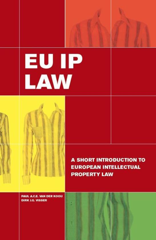 Boek cover EU IP Law van Paul A.C.E. van der Kooij (Paperback)