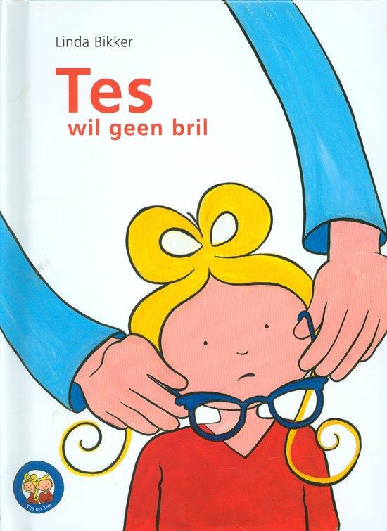 Cover van het boek 'Tes wil geen bril'