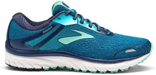 Brooks Adrenaline GTS 18 2A blauw hardloopschoenen dames