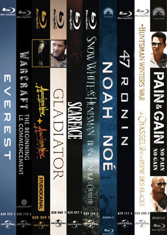 10 Blockbusters Film Boxset (Blu-ray)(Exclusief Bij Bol.com)