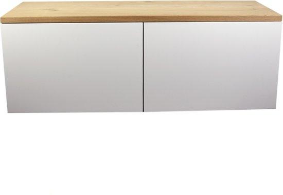 Bolcom Eiken Besta Ikea Houten Tv Meubel Blad