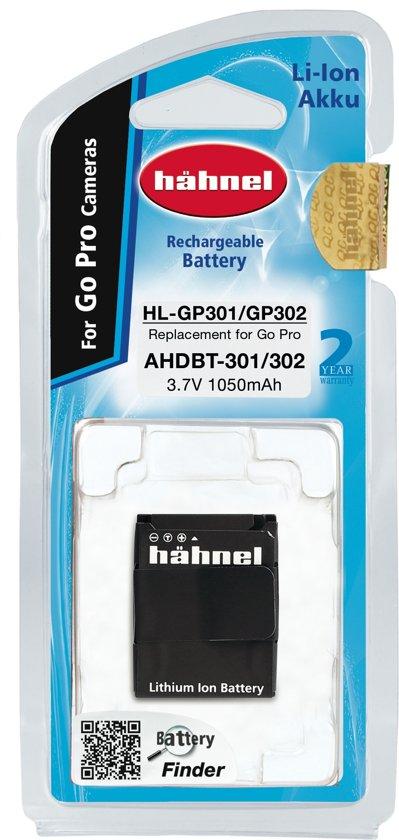 Hahnel HL-GP301/302 Li-Ion Accu (GoPro AHBDT-301/302)