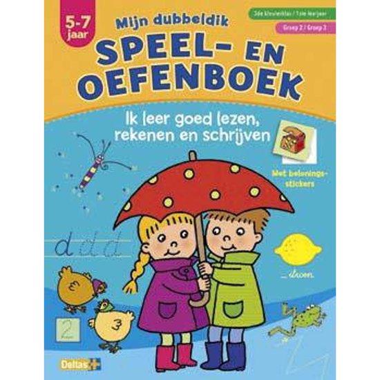 Boek cover Mijn dubbeldik speel- en oefenboek 5-7 jaar; Groep 2 / Groep 3 van Deltas (Paperback)