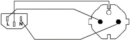 Procab CAB490/5 Eurokabel - 5 meter