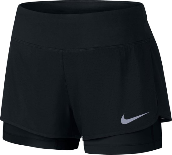 1f49b0d1272 bol.com | Nike Flex 2-in-1 Hardloop Short Dames Hardloopbroek - Maat ...