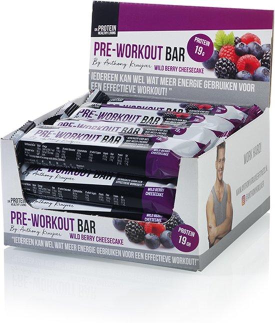 Dr. Protein Pre-Workout Bar 50gr. 15+1 gratis