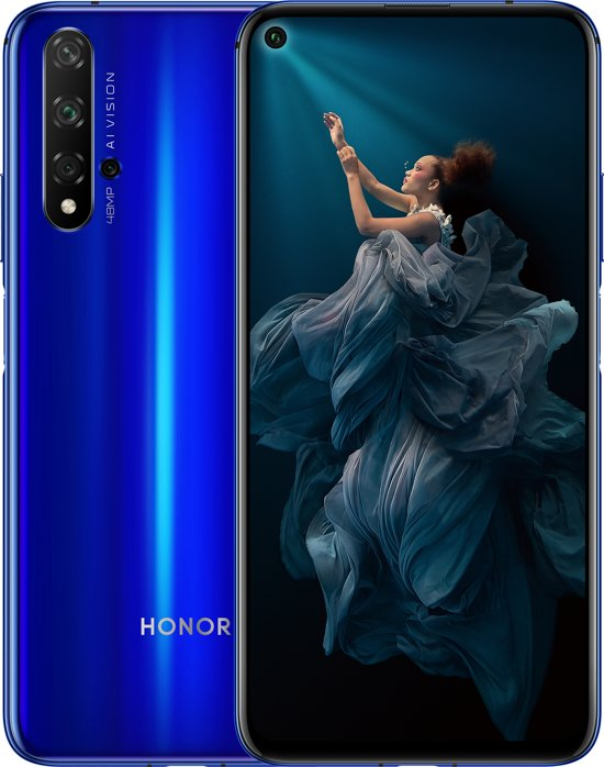 Honor 20 - 128GB - Blauw