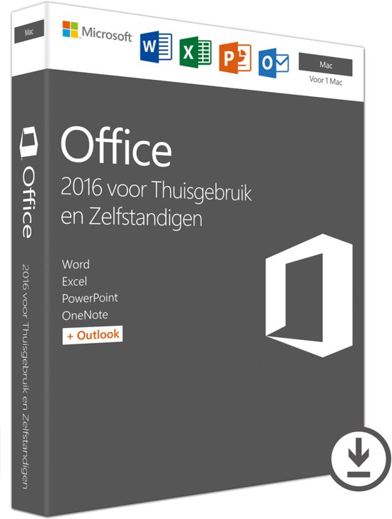 Microsoft Office 2016 Home & Business -  Mac