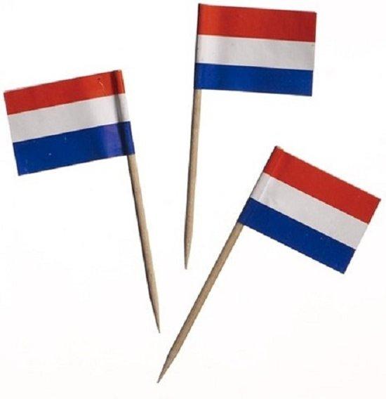 Vlagprikker Nederland 5x144st
