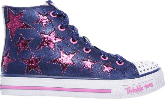 7f68c1b9f58 Skechers Sneakers Kids Shuffles - Rocking Stars-10778L-Maat-33-Navy/