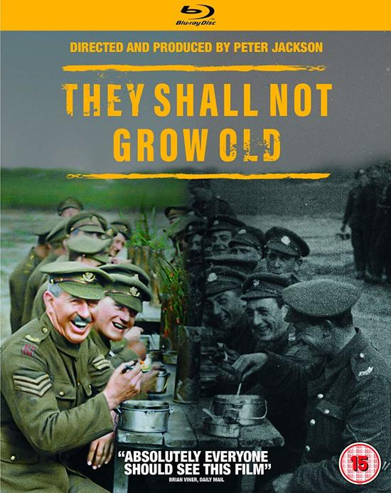 They Shall Not Grow Old (blu-ray) (Import)