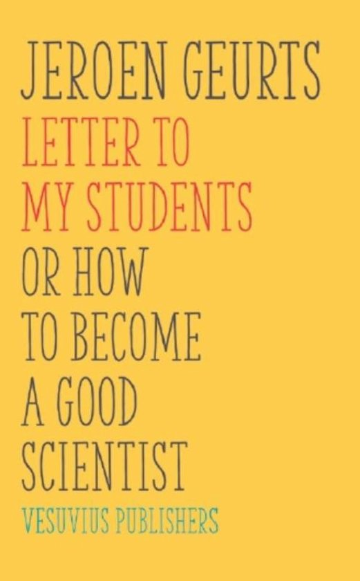 Letter to my students