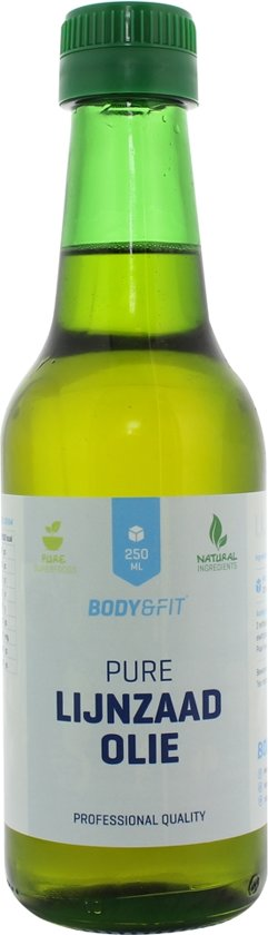 Body & Fit Superfoods Pure Lijnzaadolie - 250 ml