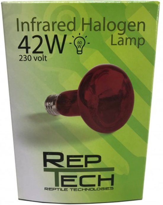 Reptech Infrarood halogeen lamp 42W
