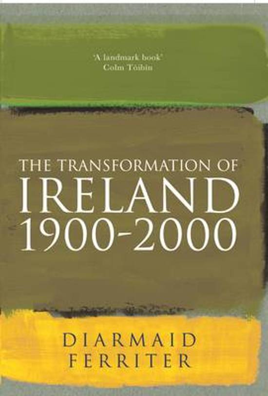The Transformation Of Ireland 1900-2000