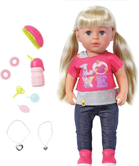 Afbeelding van BABY born Grote Zus - Interactieve Pop - 43cm speelgoed