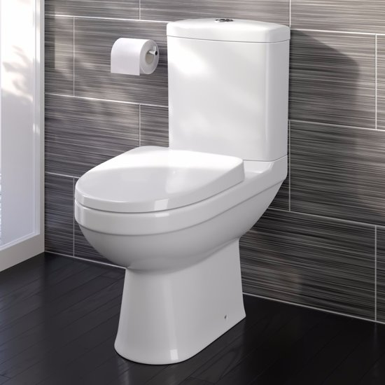 Staande Wc Pot Compleet.Bol Com Sabrosa Staand Toilet Compleet Met Spoelbak En