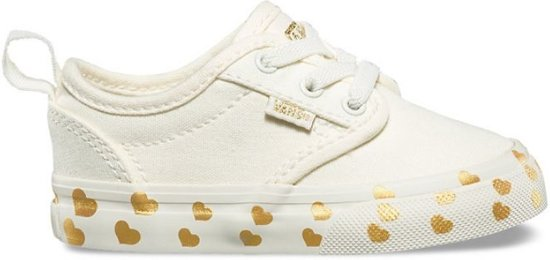 5fbf32dcb6d bol.com | Vans TD Atwood slip on wit sneakers baby