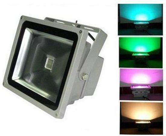 Lumenx Bouwlamp 50W RGB LED Bouwlamp IP65 (kleur)