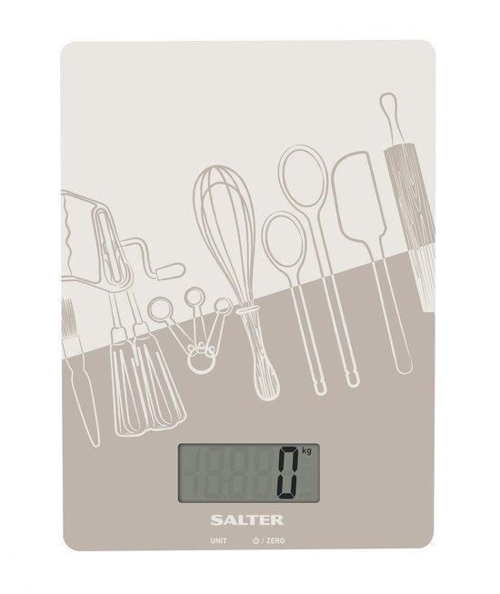 Salter SA1102 GYDR Keukenweegschaal - Grijs