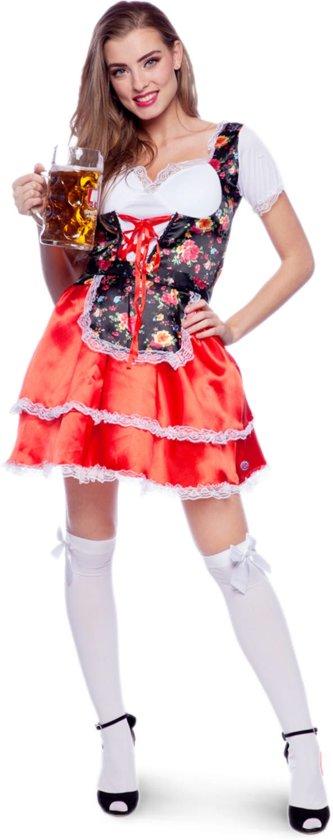 Carnavalskleding Tirol Dames.Bol Com Folat Dirndl Dames Elke Rood L Carnavalskleding Folat