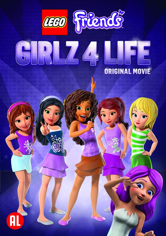 Bolcom Lego Friends Girlz 4 Life Dvd Dvds
