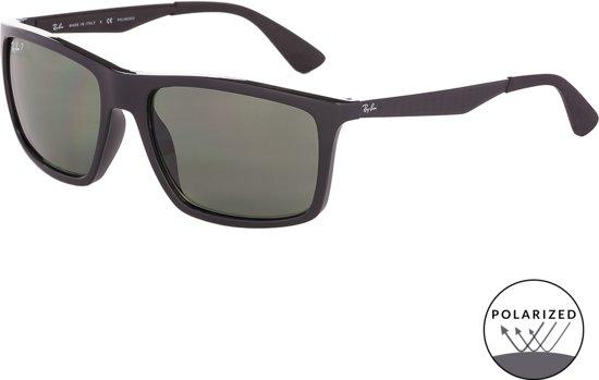 61615af3ca Ray-Ban RB4228 601 9A - zonnebril - Zwart   Groen Klassiek G-