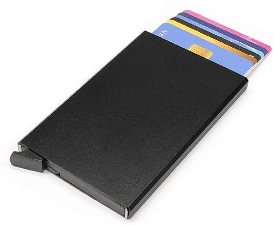 Figuretta RFID Creditcardhouder - 6 Pasjes - Zwart