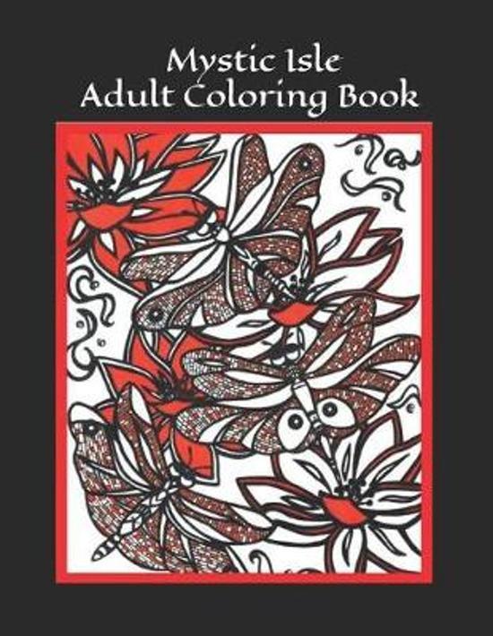 Mystic Isle Adult Coloring Book